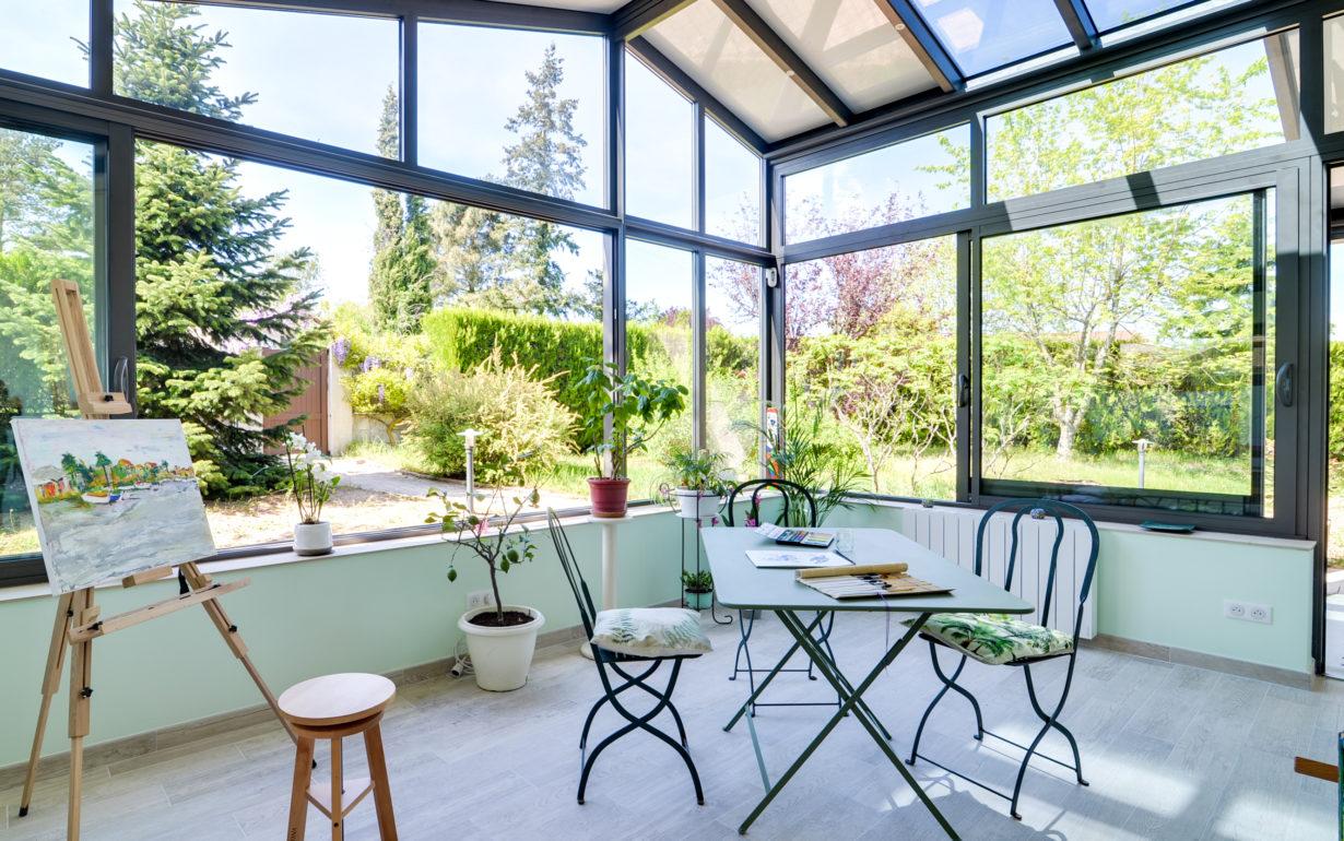 travaux réalisation de veranda à Marcy proche de Lyon